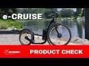 Kickbike e-Cruise, elektrická koloběžka