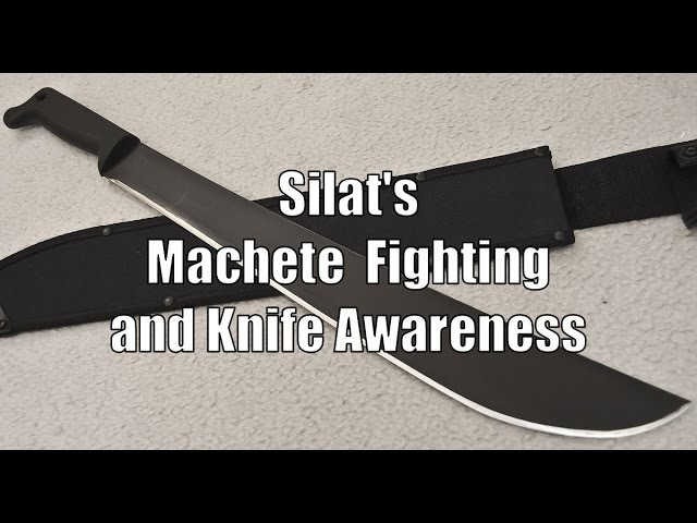 Silat Suffian Bela Diri Blade Strategies Machete Knife