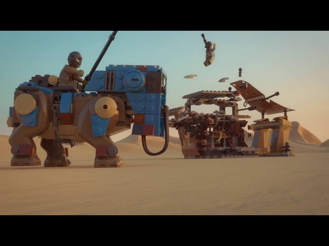 Encounter on Jakku - LEGO Star Wars - Product Animation 75148