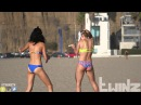 TwinzTV - BLINDFOLDED GIRLS FIGHT WITH DILDO'S STAR WARS PRANK