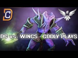 WINGS GODLY PLAYS vs. DC DOTA 2 TI6