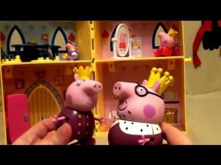Peppa Pig свинка Пеппа и ее друзья. Мультфильм для детей. Замок свинки Пеппы.