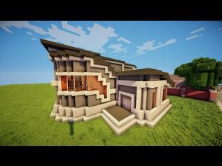 Как построить красивый дом в minecraft - Серия 12, ч. 1 - Строительный креатив