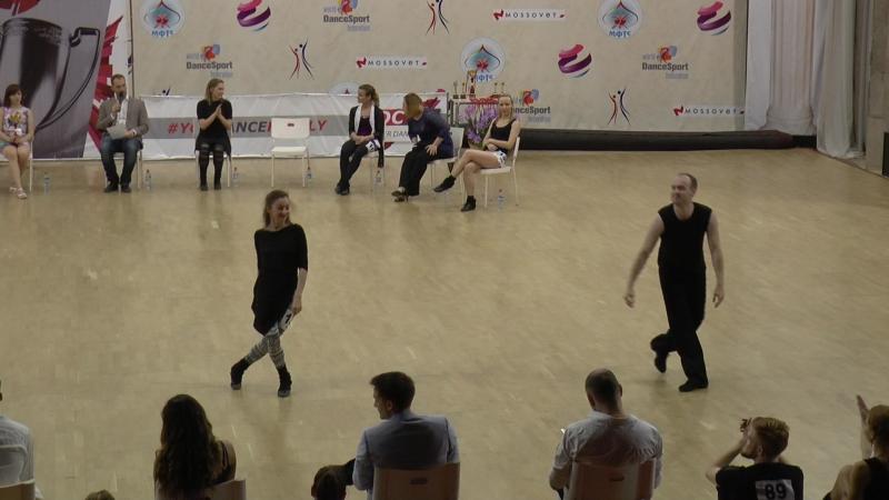 SDC2016 Final MainStar 3-е место Денис Гусаров - Мария Лазарева