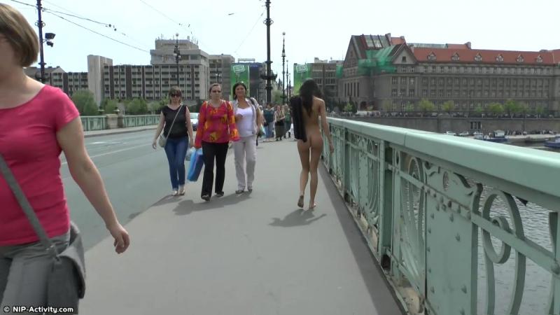 Martina P Nude in Public 3