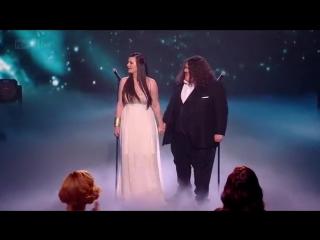 Джонатан и Шарлотта. Британия ищет таланты - финал 2012