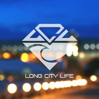 Логотип Long City Life - Longboard Community / Лонгборд