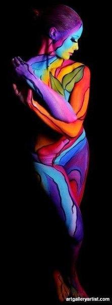 картины обнаженном теле женщины