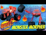 MONSTER MORPHER BLAZE   Blaze and the Monster Machines Nick Jr Fisher Price Review Playtime Video