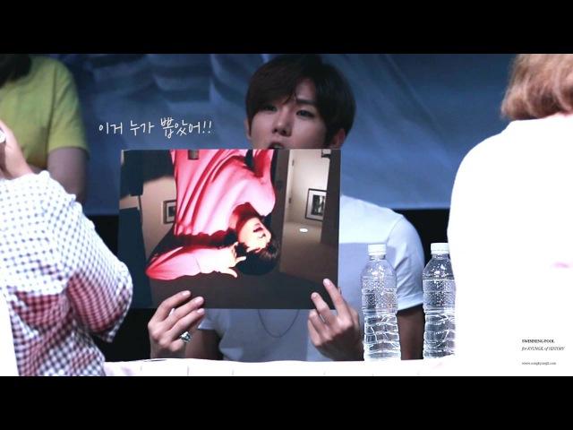 과거사진을 본 흔한 아이돌의 반응.mp4
