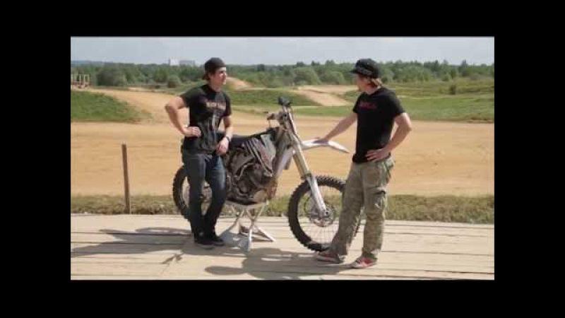 Тест-драйв кроссового мотоцикла SHERCO 300SE и интервью Давида Леонова. MOTOlife. Выпуск 2.