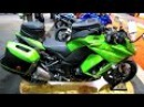 2014 Kawasaki Ninja 1000 ABS Accessorized Walkaround - 2014 Toronto Motorcyle Show