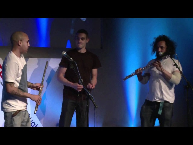 Nathan 'Flutebox' Lee at TEDxGoodenoughCollege
