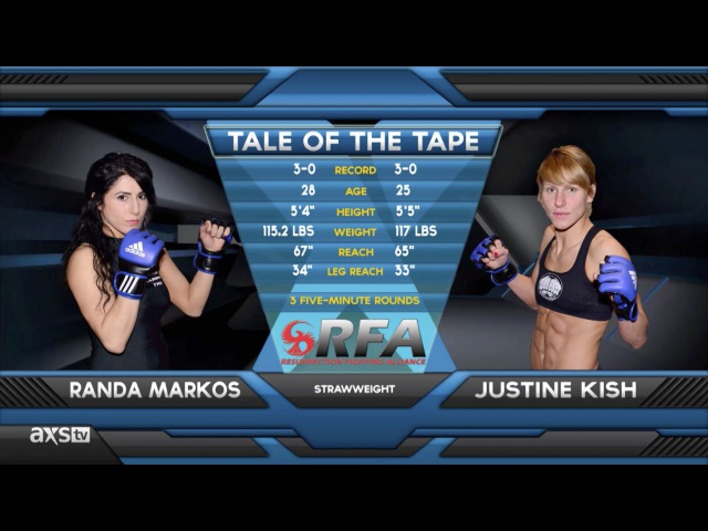TUF 20 Fighters Randa Markos and Justine Kish Clash at RFA 12 | Fight of the Week