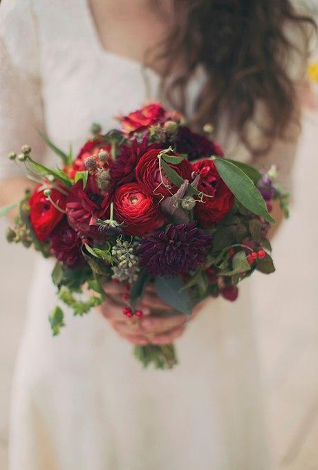 lsyEajHii64 - 40 ярких и красивых свадебных букетов