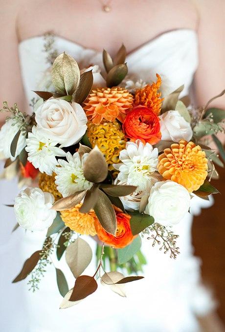 F0TViLwelRw - 40 ярких и красивых свадебных букетов