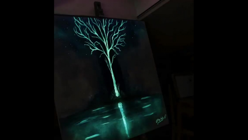 Художник, что рисует свет. Потрясающе красиво! Crisco Art.