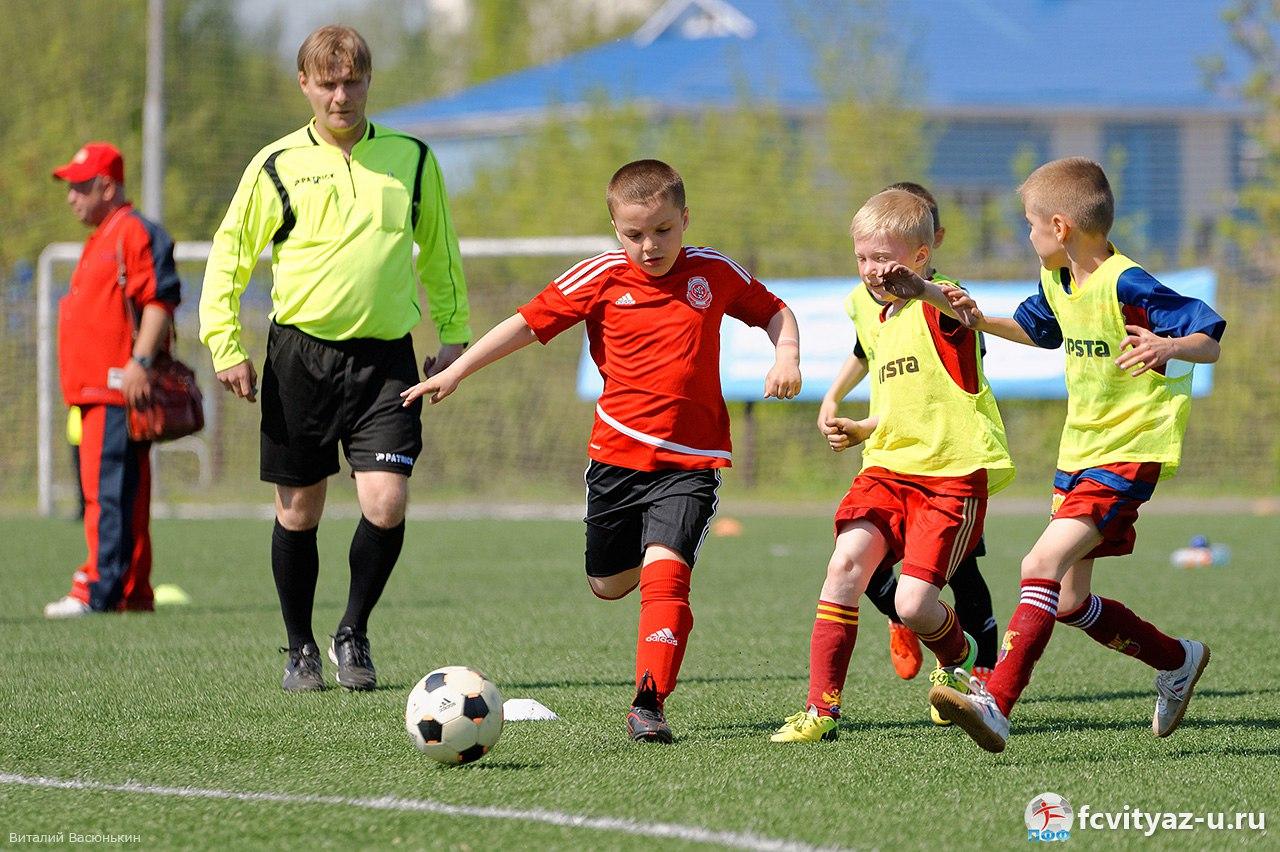 15 октября подведут итоги нового чемпионата города для самых маленьких футболистов