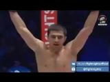 Нокаут Ахмеда Алиева на турнире FIGHT NIGHTS GLOBAL 45