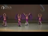 Танец живота от танцевальной  студии DIVA, хореограф Алена Федоренко