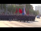 РВВДКУ,Возвращение в Рязань. Площадь Победы,Рязань 9 мая 2016 г