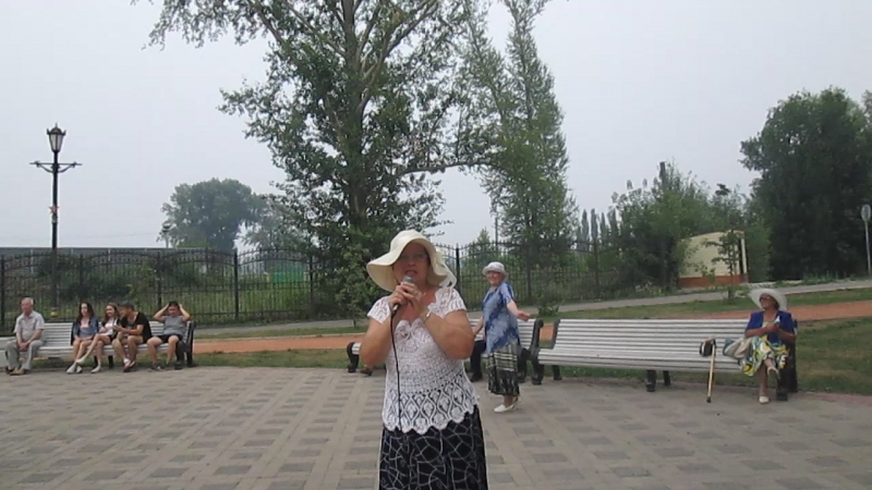 Безмужняя - Тамара Котлакова. Субботний вечер в парке г. Салавата