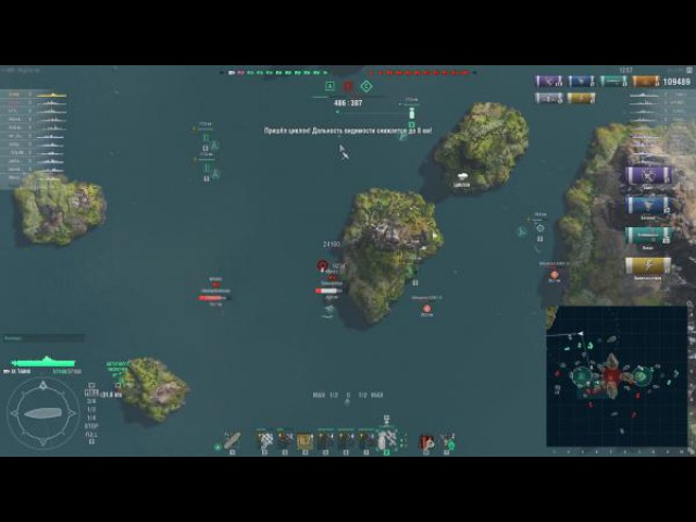 World of Warships Не обзор Тайхо в циклоне Z1ooo World of Warships