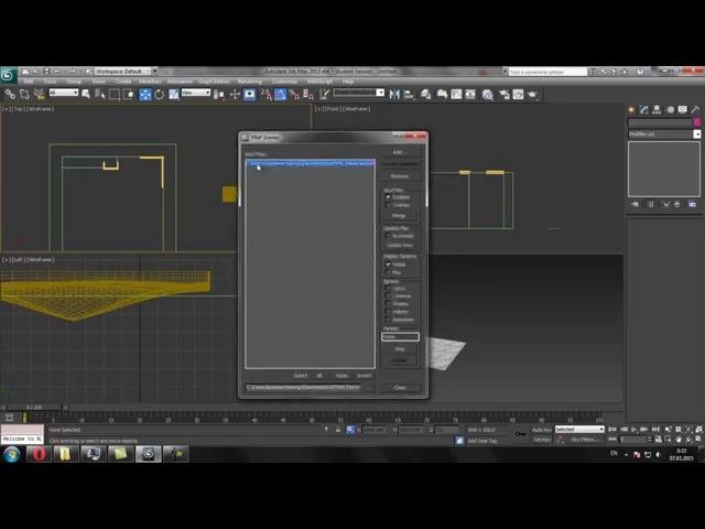 3D max. Уроки в 3d max.xref 3ds max. Проект Ильи Изотова.
