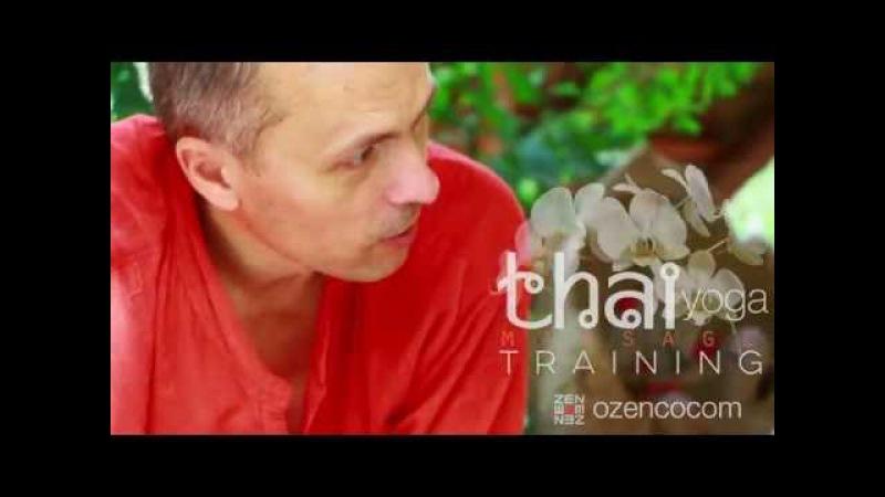 Тренер Абинав. Тренинг по тайскому йога-массажу в Озен Коком, Мексика.