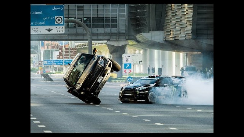 Ken Block's Ultimate Exotic Playground in Dubai | Gymkhana | Ford Performance