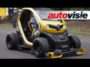 Renault Twizy RS F1 vs Megane RS by Autovisie TV