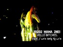 151202 Mnet Asian Music Award 2015 - CL HELLO BITCHES 2NE1 - FIRE 내가 제일 잘 나가