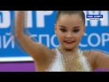 Арина Аверина - мяч (многоборье) HD  Гран-При 2016, Москва
