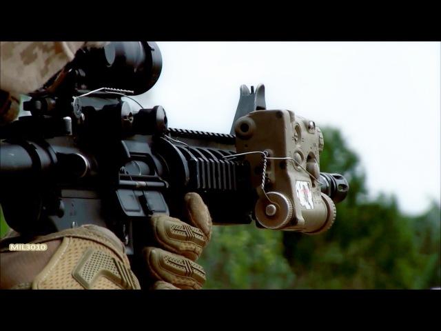 Автомат M16 M4 / US Marines на полигоне в Австралии