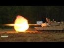 Танки M1A2 SEP V2 Абрамс / Стрельба по мишеням, проверка прицела на точность
