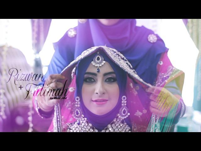 INDIAN MUSLIM WEDDING (Kuala Lumpur, MALAYSIA) : Rizwan Fatimah Reception by NEXT ART