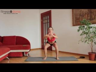 Фитнес с Юлией Богдан. Жиросжигающие тренировки #5