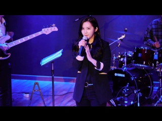 [fancam] 151209 yooara (ex-hello venus) - talk 3 @  health college last concert