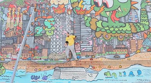 xupet negre graffiti