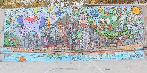 barcelona graffiti street art