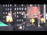 `FANCAM` 160725 Bangtan - Fire @ Репетиция MBC Music Core 2016 USF Ulsan Summer Festival.