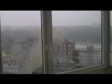 Удар молнии в дом на Парковом. Пермь