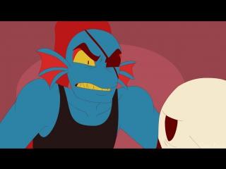 Просто Голова (Анимация) - Just A Head [Undertale Animation] (Русский Дубля