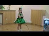 Выступление доченьки Ксении