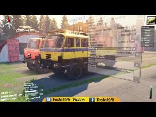 Spintires Full Version - Tatra T-815 S1B & Tatra T-815 TP