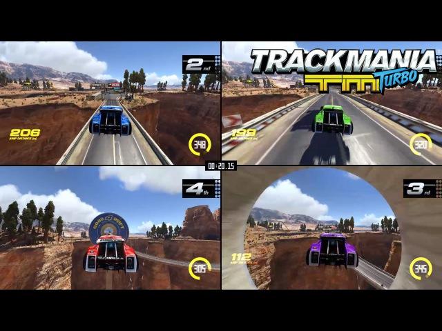 Trackmania Turbo Multiplayer trailer – More drivers, more fun! [EUROPE]