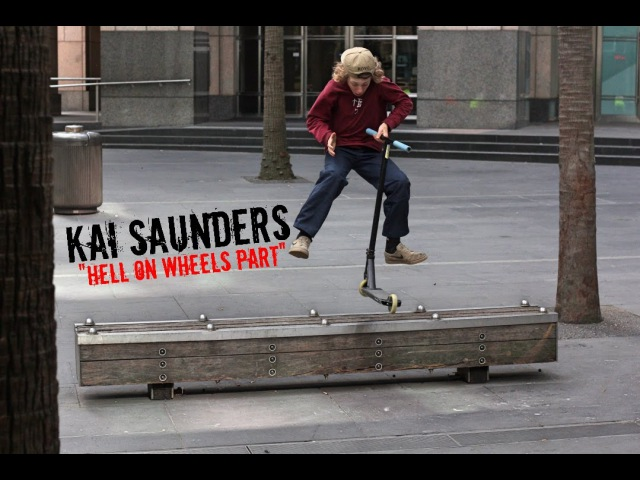 Kai Saunders Hell On Wheels Part