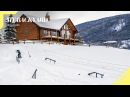 16 Year Old Red Gerard's Ultimate Backyard Snowboarding Park Insight