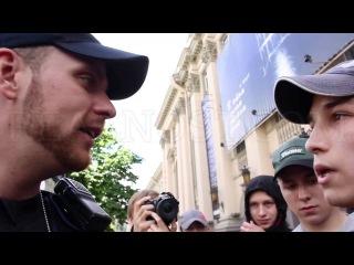 12 июня 2016. Киев. Гей-парад в Киеве -  РЕАЛЬНОСТЬ.Новости