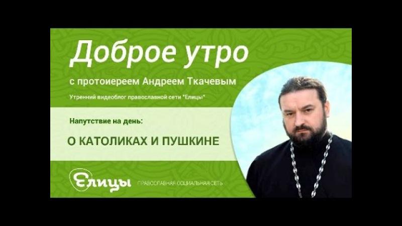 О КАТОЛИКАХ И ПУШКИНЕ о папе Вавилоне и разбитом корыте о Андрей Ткачев